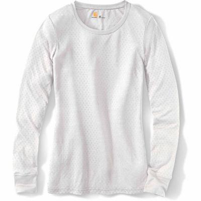 Carhartt Scrubs Women's Knits Long Sleeve Burnout Jersey Tee