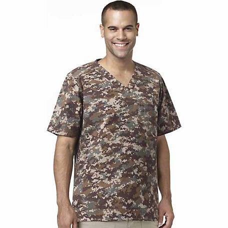 Carhartt Scrubs Men's Print Utility Top