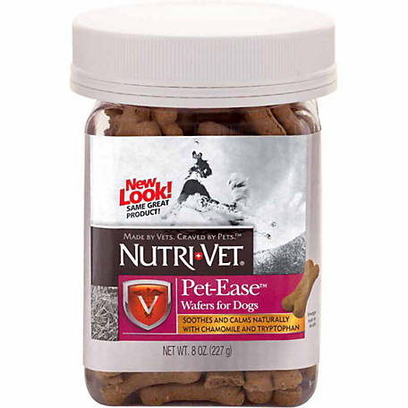 Nutri-Vet Pet-Ease Chicken Wafers for Dogs, 8 oz.
