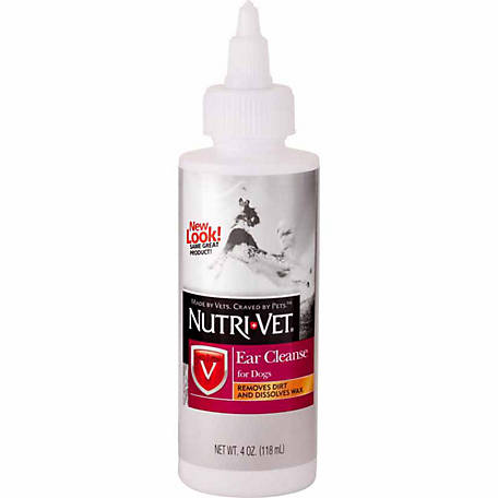 Nutri-Vet Ear Cleanse for Dogs, 4 oz.