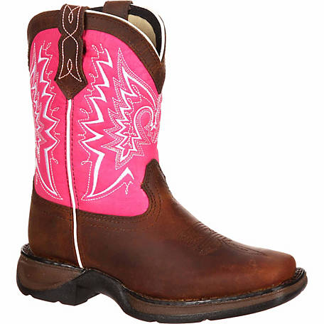 Durango Girl's Lil' Durango 8 in. Let Love Fly Boot