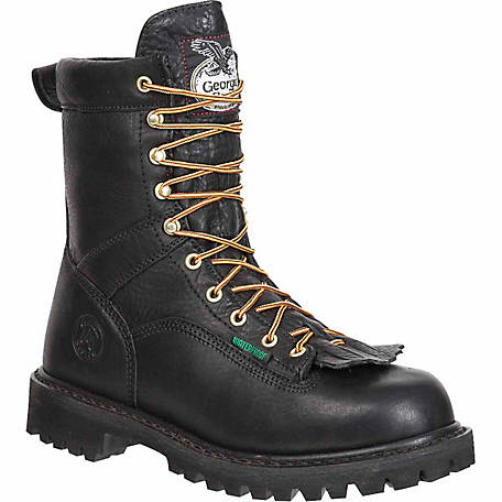 d66c7e75f47 Georgia Boot Men's 8 in. Lace-To-Toe Steel Toe Work Boot at Tractor Supply  Co.