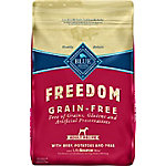 Blue Freedom Grain-Free Beef Recipe Adult Dog Food, 24 lb.
