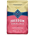 Blue Freedom Grain-Free Chicken Recipe For Small Breed Adult Dog Food, 11 lb. Bag