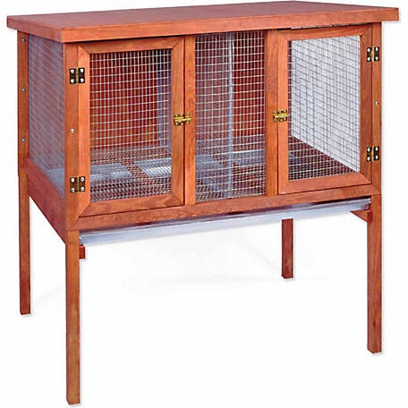 Ware Manufacturing HD Double Rabbit Hutch