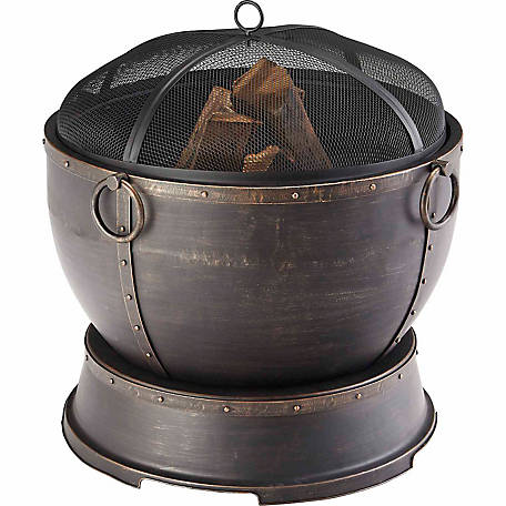 Pleasant Hearth Athena Urn Style Fire Pit