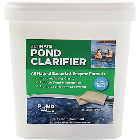 PondValue Ultimate Pond Clarifier, 6 lb.