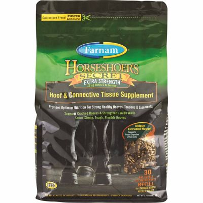 Buy Farnam HorseShoer's Secret Extra Strength Hoof & Connective Tissue Supplement; 30 Day Supply Online