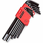 TEKTON 13-Piece Long Arm Hex Key Wrench Set, Metric