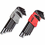 TEKTON 26-Piece Long Arm Hex Key Wrench Set, SAE/Metric