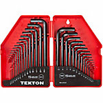 TEKTON 30-Piece Hex Key Wrench Set, SAE/Metric