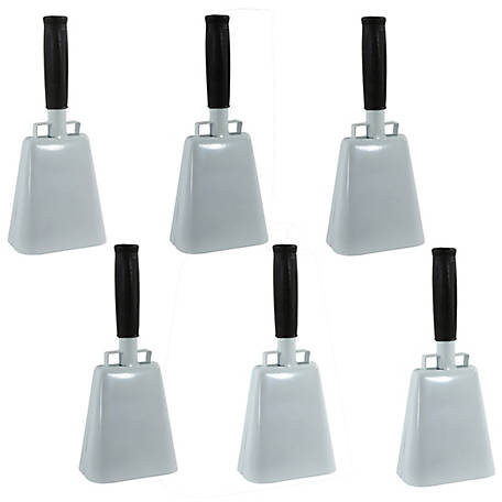 Buffalo Tools Customizable 6 Piece 10 in. Cow Bell Set