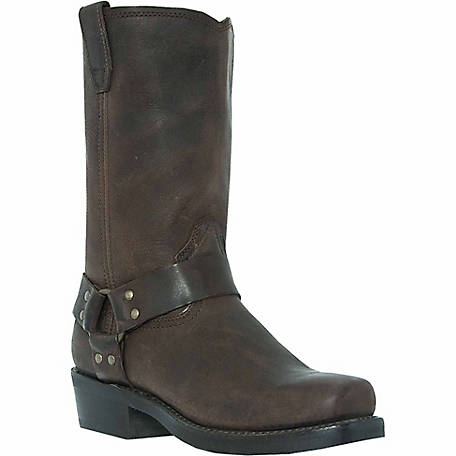 Dingo Men's Dean Gaucho Leather Boot with Strap