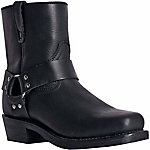 Dingo Men's Rev Up Short Leather Boot with Side Zipper