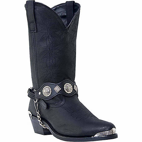 Dingo Men's Suiter Fashion Boots with Jeweled Strap