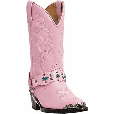 2b10c2841d0 Laredo Kid's Little Concho Boot with Jeweled Strap at Tractor Supply Co.