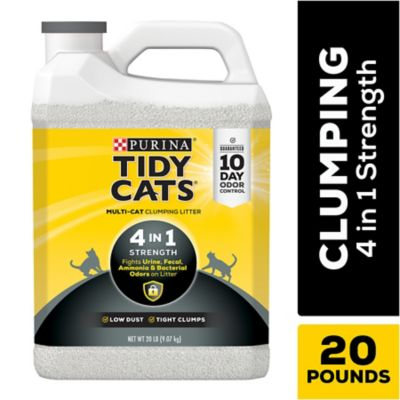 Buy Tidy Cats 4-in-1 Strength Clumping Litter; 20 lb. Jug Online