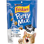 Friskies Party Mix Crunch Beachside Cat Treats, 10 oz. Pouch