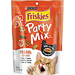 Friskies Party Mix Crunch Original Cat Treats, 10 oz. Pouch