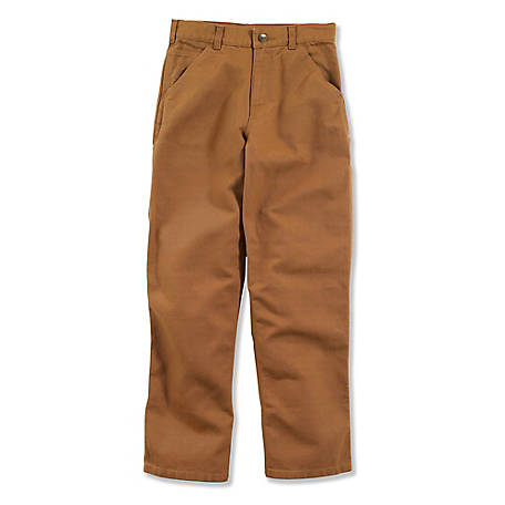 Carhartt Boys' Duck Dungaree Pant