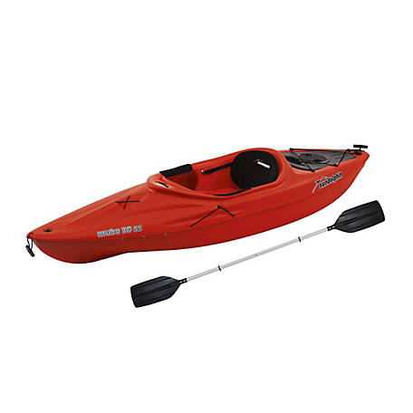 Sun Dolphin Aruba 10 ft. SS Kayak, Red, 51415-P