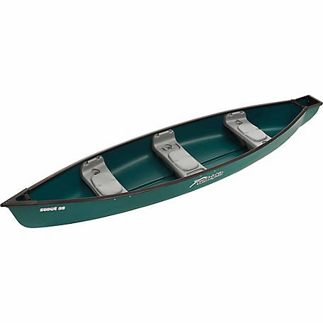 Sun Dolphin Scout 14 ft. SS Canoe, Green