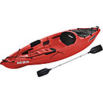 Sun Dolphin Bali 10 ft. SS Kayak with Paddle, Red