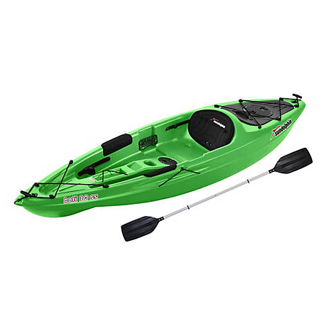 Sun Dolphin Bali 10 SS Kayak with Paddle - Lime, 51965-P