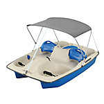 Sun Dolphin Sun Slider Pedal Boat with Canopy, Blue