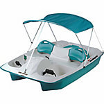 Sun Dolphin Sun Slider Pedal Boat with Canopy, Teal