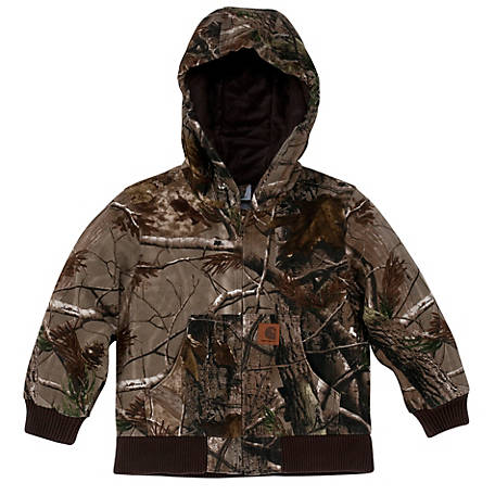 Carhartt Boy's Work Camo Active Jacket