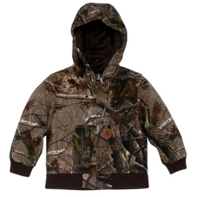 ceb9f13481f3c Carhartt Boy s Work Camo Active Jacket at Tractor Supply Co.