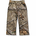 Carhartt Boy's Camo Canvas Dungaree Pants