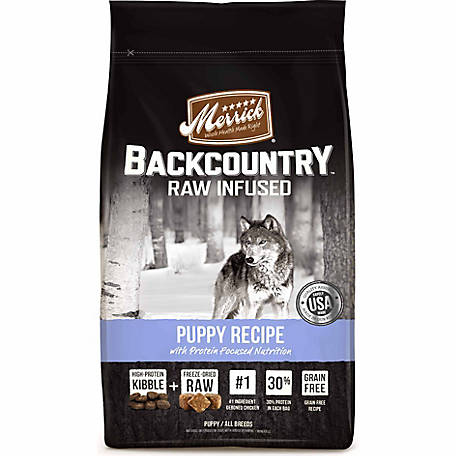 Merrick Backcountry Puppy Food, 22 lb.