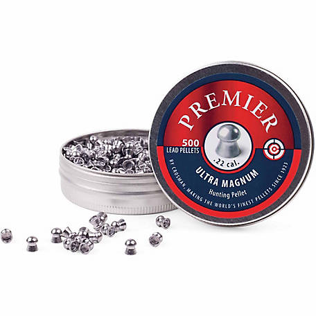Crosman Premier .22 Domed 14.3gr Premier Pellets, 500-ct