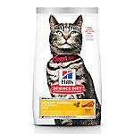 Hill's Science Diet Adult Urinary Hairball Control Cat Food, 7 lb. Bag