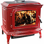 Ashley Cast Iron Enamel Wood Stove, AWC21R