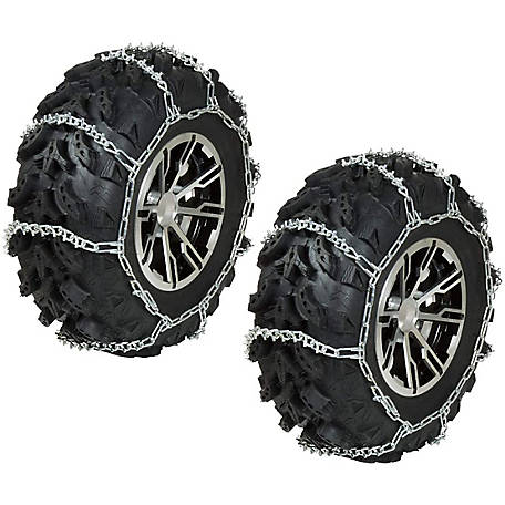 Raider ATV/UTV Tire Chains, 62 in. L x 16 in. W