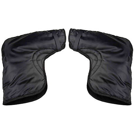 Raider Black Handlebar Gauntlet Gloves