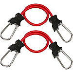 Python Carabiner Bungee Strap, 24 in., Pack of 2