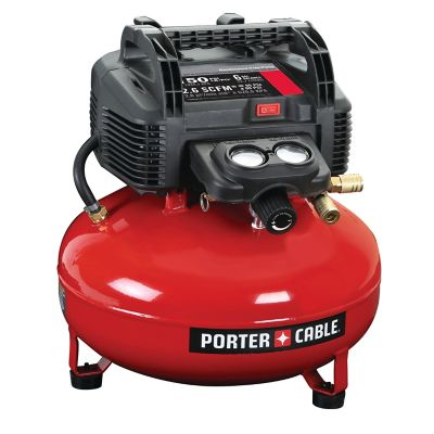 Porter Cable 150 PSI 6 gal. Oil-Free Pancake Air Compressor