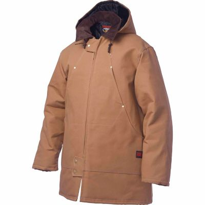 Tough Duck Womens Womens Hooded Freezer Jacket Jackets