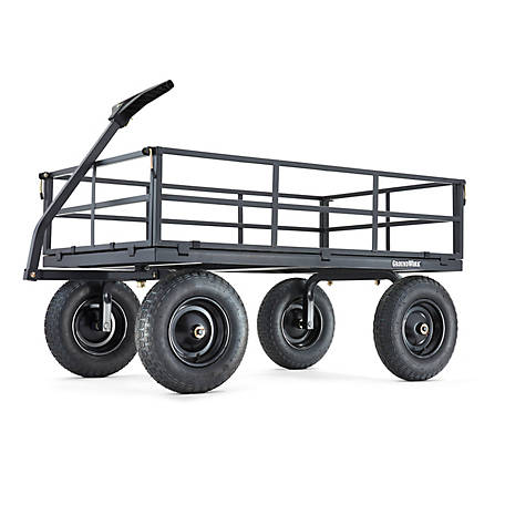GroundWork 1,400 lb. Capacity Heavy-Duty Steel Utility Cart, GW-1400-2