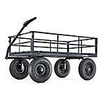 Capacity Heavy Duty Steel Utility Cart