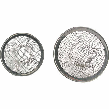 LDR Strainer Stainless Steel Mesh, 55mm and 70mm, Paxk of 2