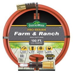 Shop GroundWork 100 ft. Contractor Farm Hose at Tractor Supply Co.