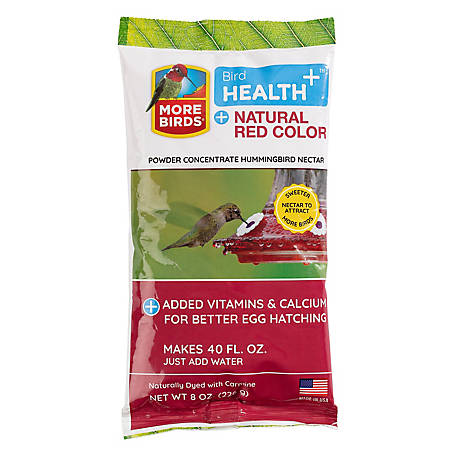 Homestead Natural Red Hummingbird Powder Nectar Concentrate, 8 oz.