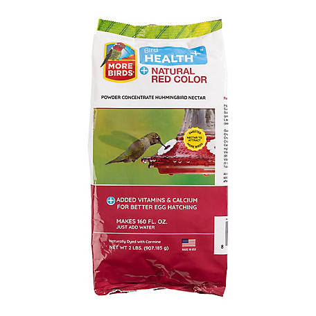 Homestead Natural Red Hummingbird Powder Nectar Concentrate, 2 lb.