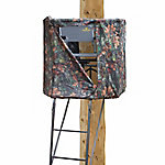 Rivers Edge Treestands RE637 Spin Shot Ladder Stand with Tear Tuff Seat