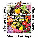 Noble Worm Organics Worm Casting Soil, 1 cu. ft.